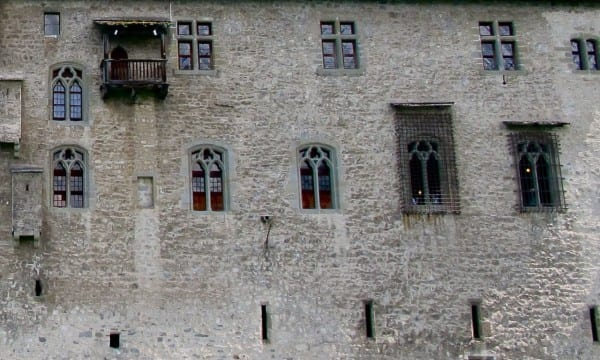 The Chateau de Chillon is said to be Switzerland's most visited historic monument