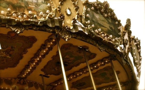 Vevey's waterside carousel