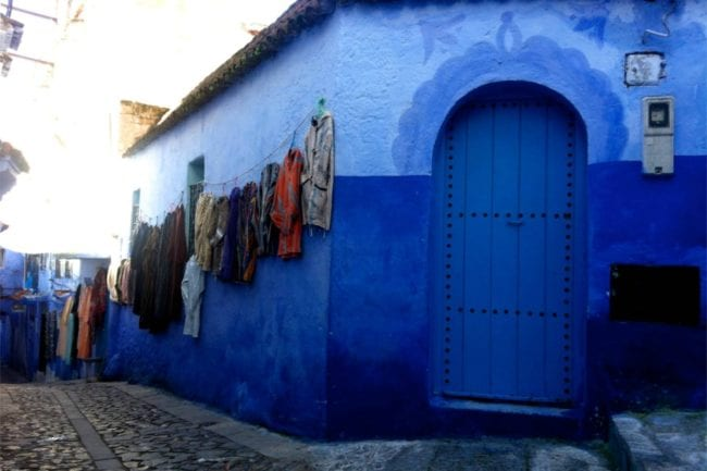 Feeling Blue in Chefchaouen, Morocco thumbnail