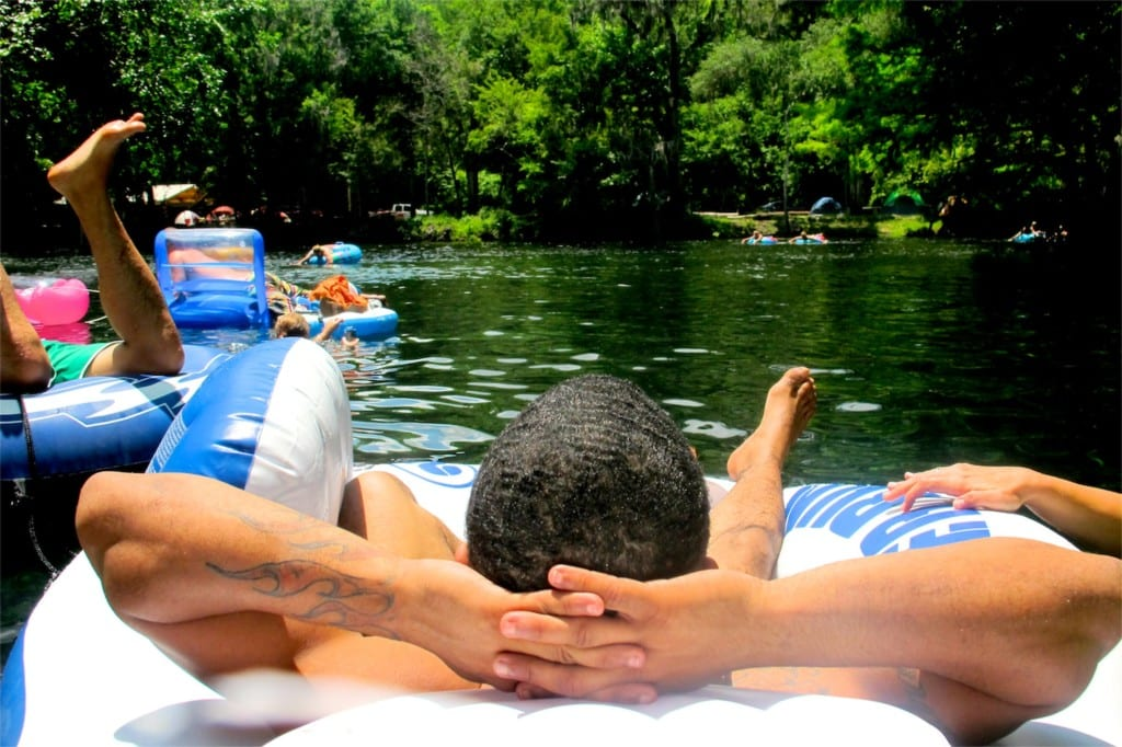 Tubing at Ginnie Springs