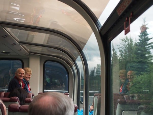 On the Alaska Railroad