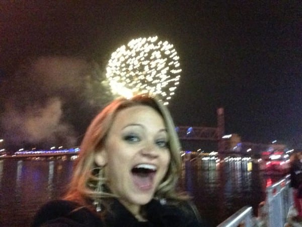 Fireworks in Jacksonville to ring in 2014