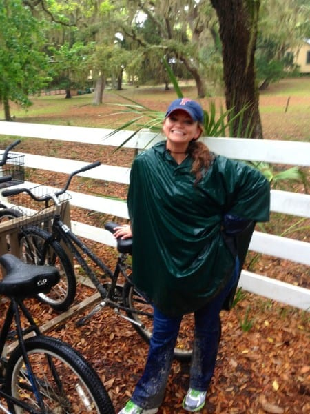 Even with a raincoat, I was soaked to the gills. But it was one of my favorite bike rides ever!