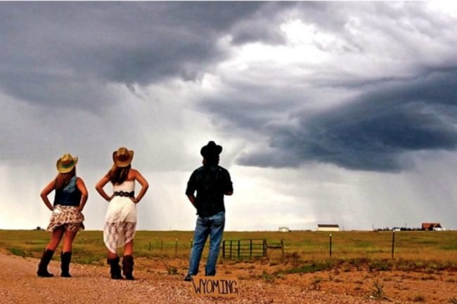 Storm Chasing in Wyoming thumbnail