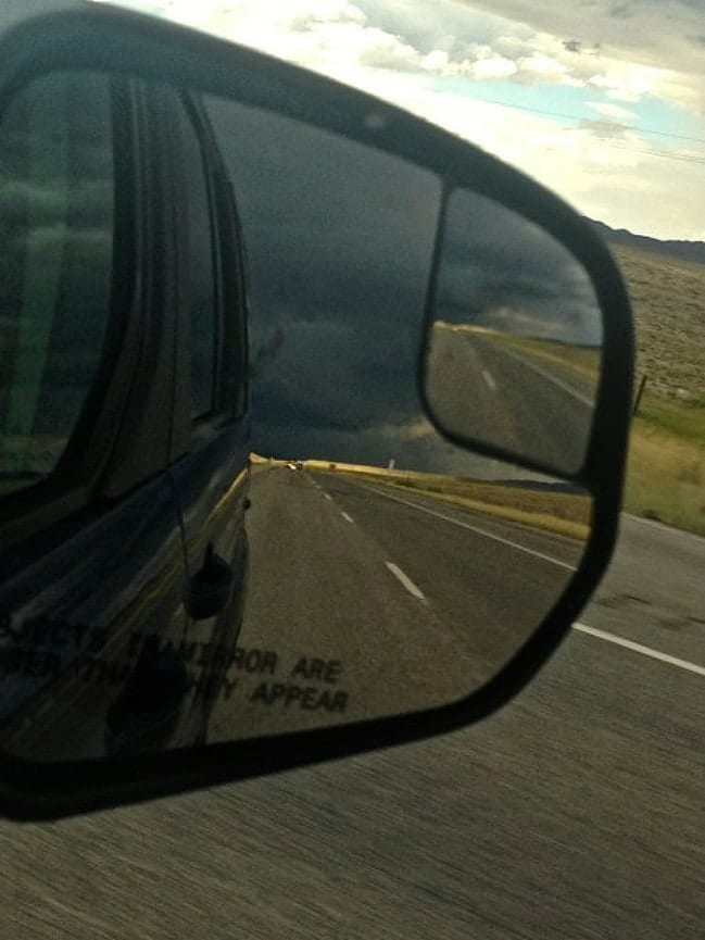 Road Tripping and storm chasing in Wyoming