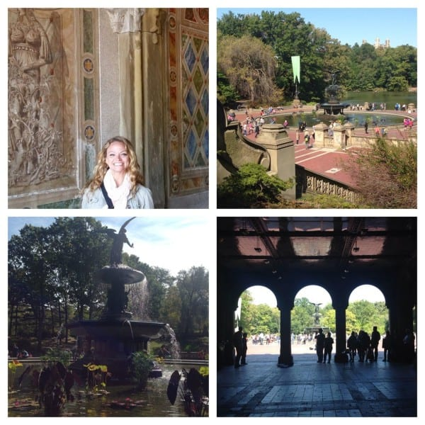 Can never get enough of Bethesda Terrace, the Boathouse & the Bow Bridge