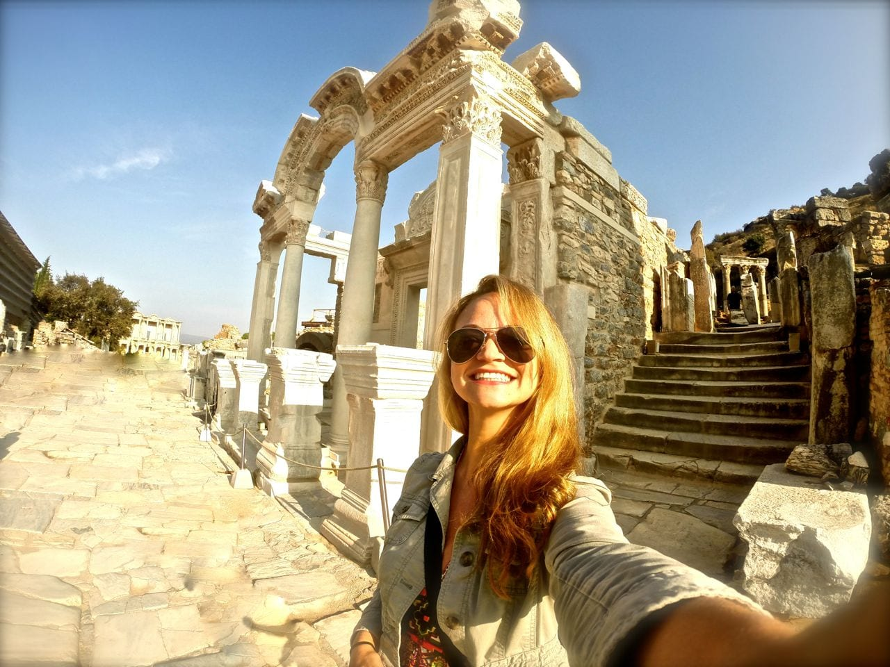 Ephesus with Angie Away