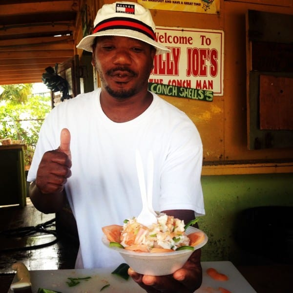 Conch salad, anyone? Trust me, you've got to try this stuff!