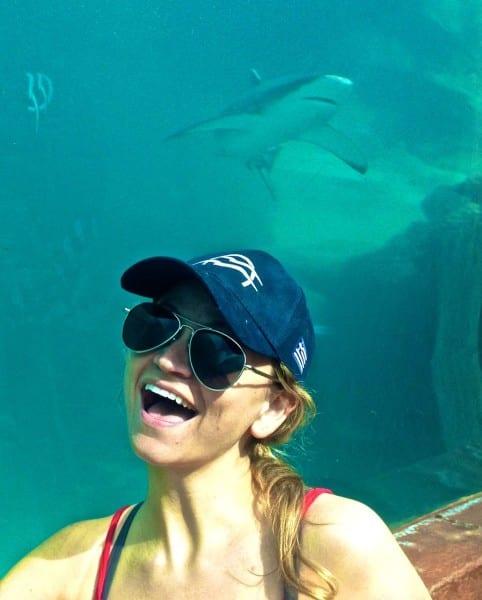 In my element at Atlantis.