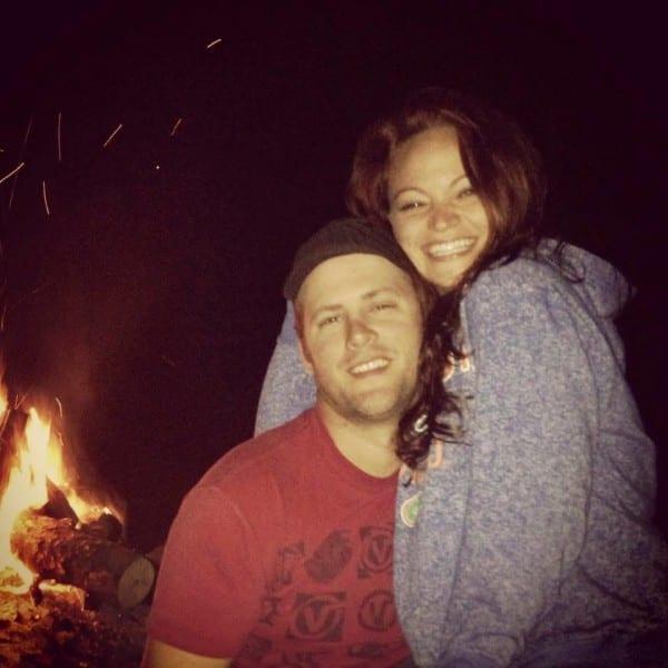 Bonfire at Hilltop House