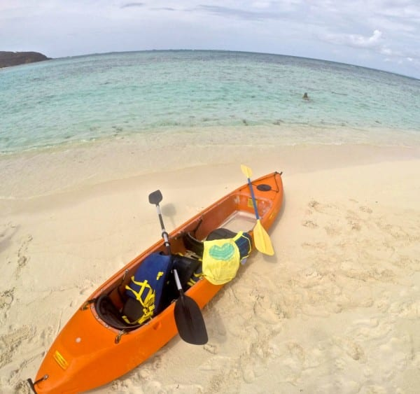 Definitely pick the glass bottom kayak - it gives your whole adventure a little extra kick