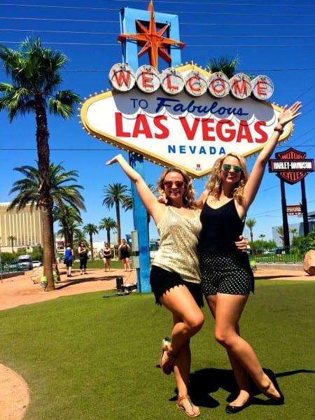 The Jet Sisters in Las Vegas!