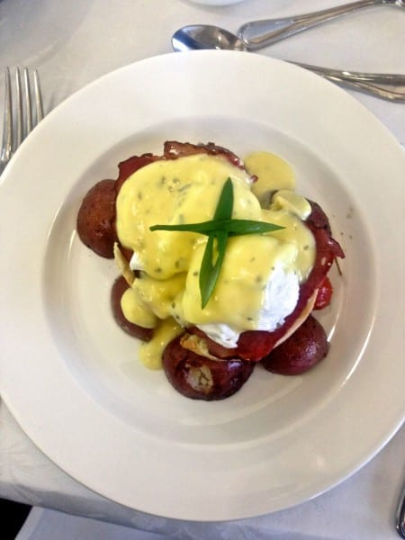 A Rocky Mountaineer Benedict!