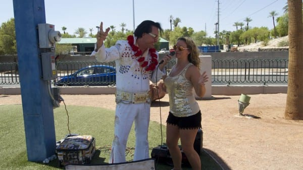 When in Vegas, do as the Elvis impersonators do