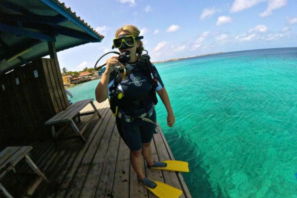 Bonaire Diving in Salt Pier
