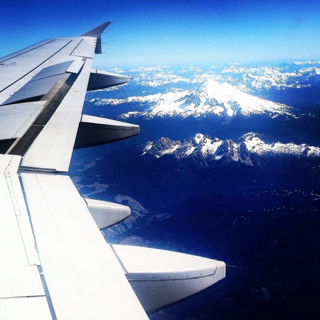 En route to Vancouver