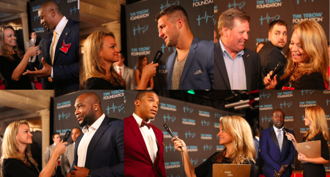 Interviewing some of my favorites