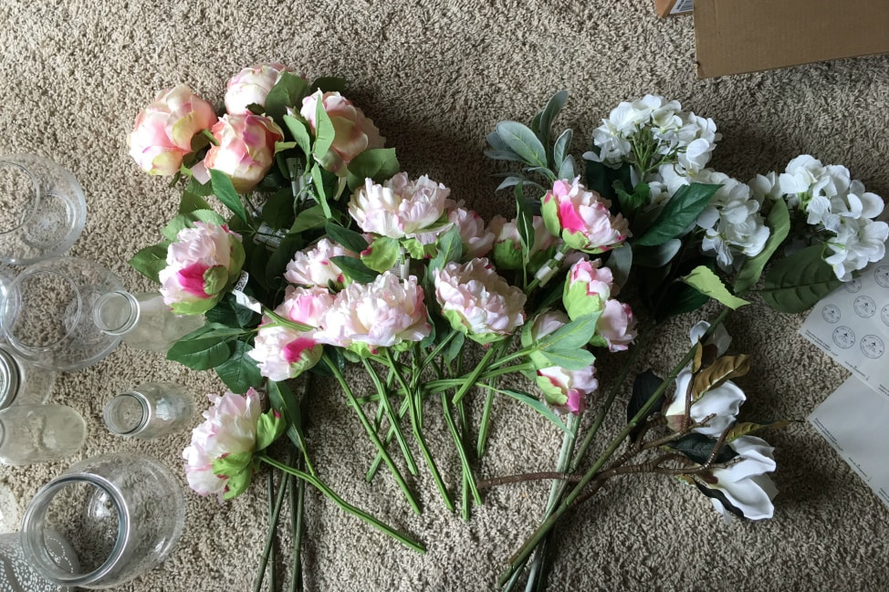 DIY Fake Flower Bouquets