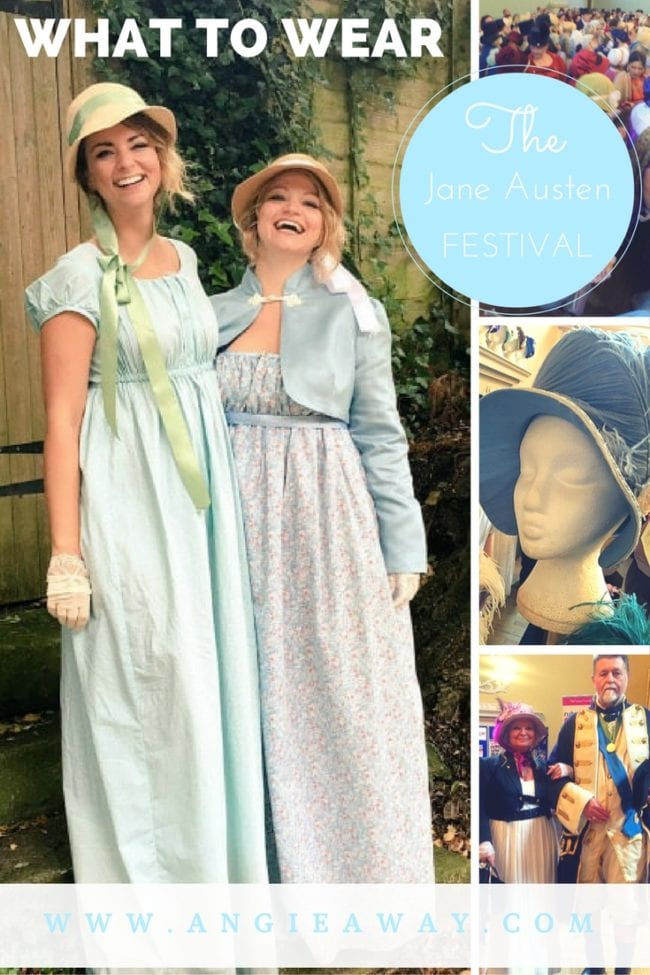 What to Wear to the Jane Austen Festival Bath