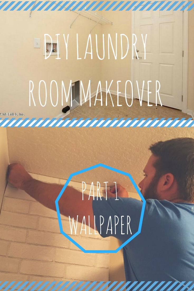 HOW TO: DIY Laundry Room Makeover tutorial on a budget. Check out this step by step guide on how to turn your small laundry room into a cute, rustic room! Build shelves, get ideas and get organized! #DIY #Ideas #Laundry #Budget