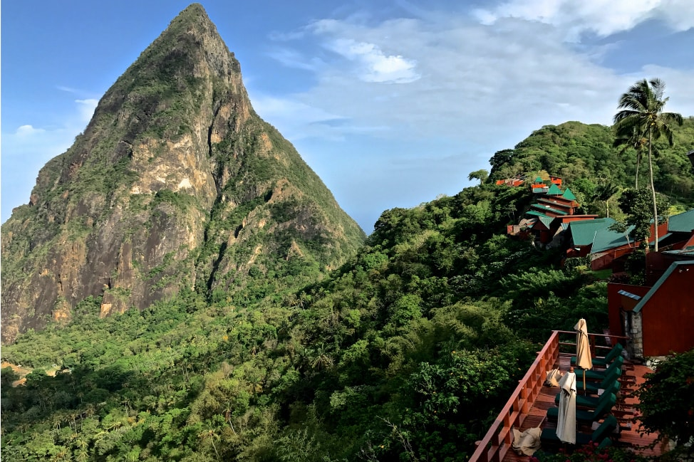 Romantic Saint Lucia: We Made it to Ladera! thumbnail