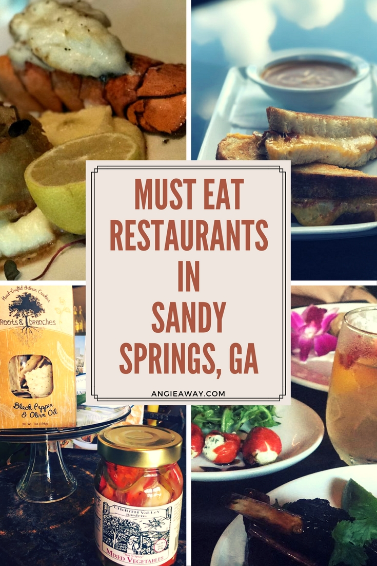 Eat your way through Sandy Springs, Georgia! We found 6 places in Georgia that you must visit next time you're on a road trip!