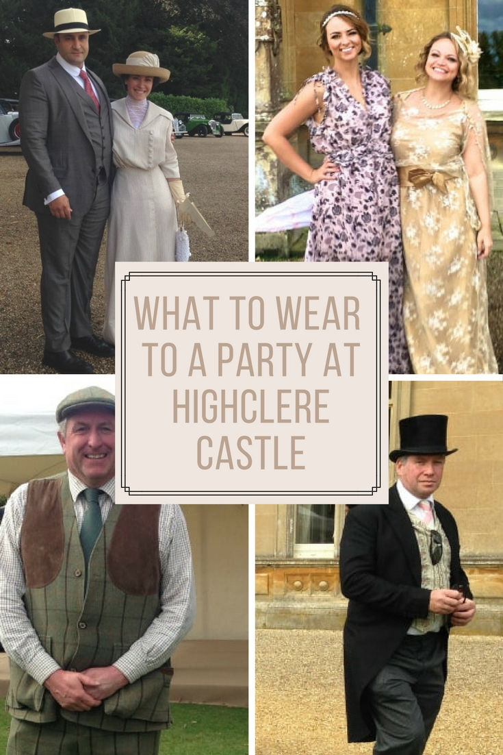 Are you visiting the real life Downton Abbey Castel - Highclere Castle? Don't miss out on this what to wear fashion post! We visited the castle and have LOTS of tips.