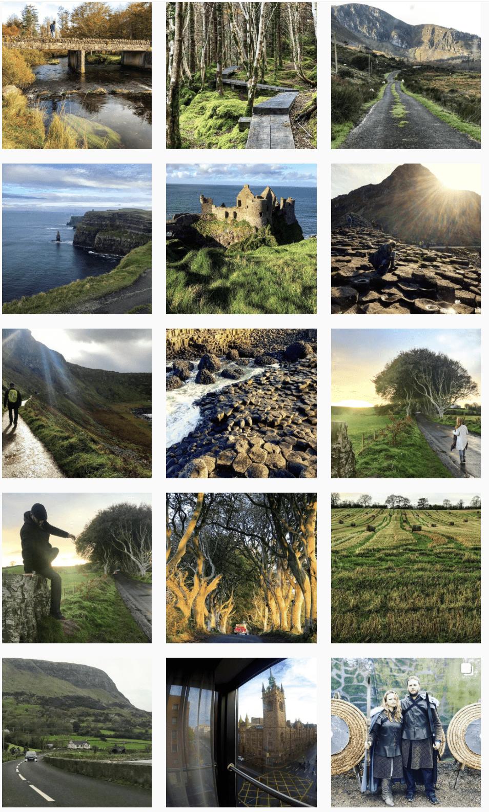 Ireland Northern Ireland Irish Road Trip Inspiration