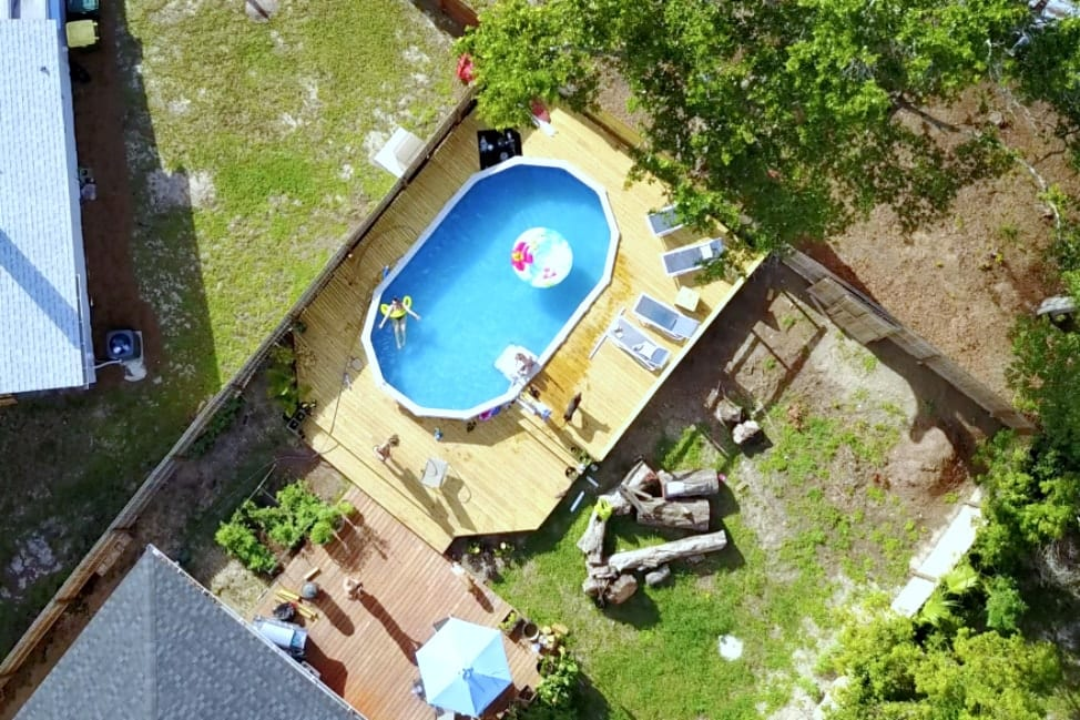 April Pools Day - Drone Shot Pool-min