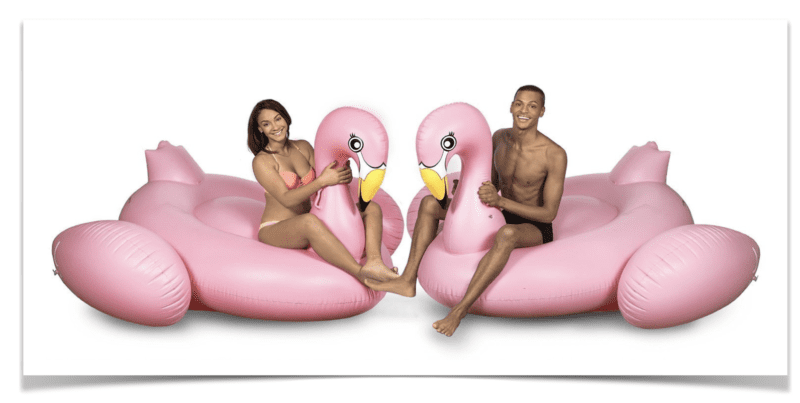 April Pools Day - Flamingo Inflatable