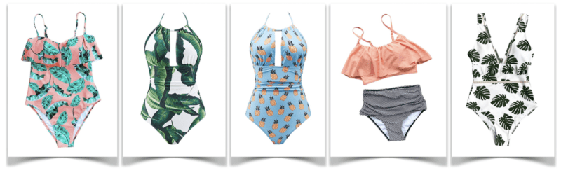 April Pools Day - Swimsuits for a pool party