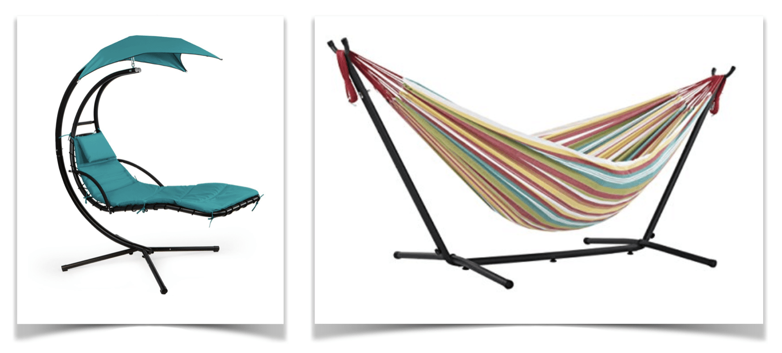 April Pools Day - Hammocks and Loungers