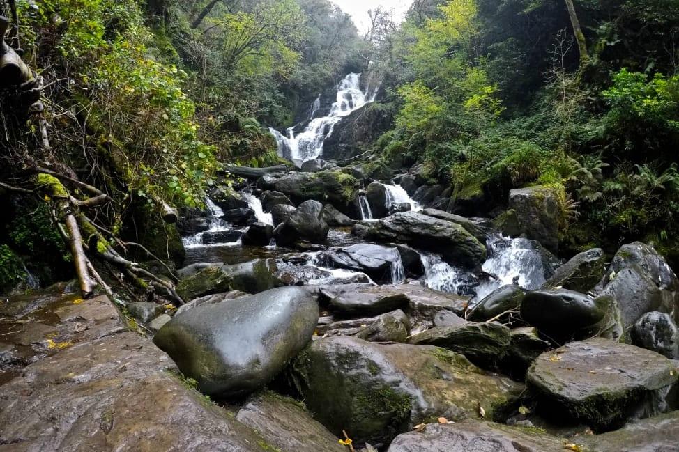 Torc Waterfall in Killarney, Ireland