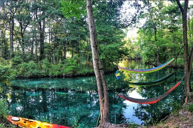 Why You Must Plan a Ginnie Springs Camping Trip thumbnail