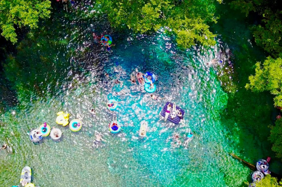 Reflections from the Road - Vol. 35 - Ginnie Springs Drone-min