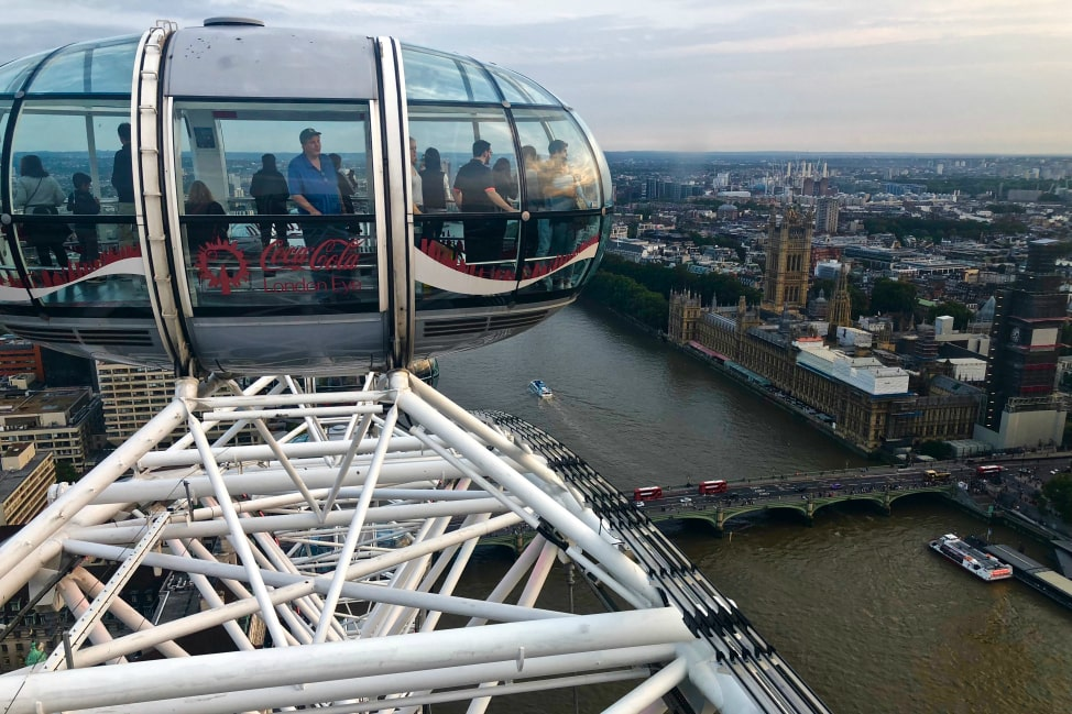 The London Eye - Angie Away