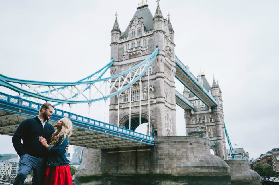 Flytographer London - Tower Bridge - Angie Away