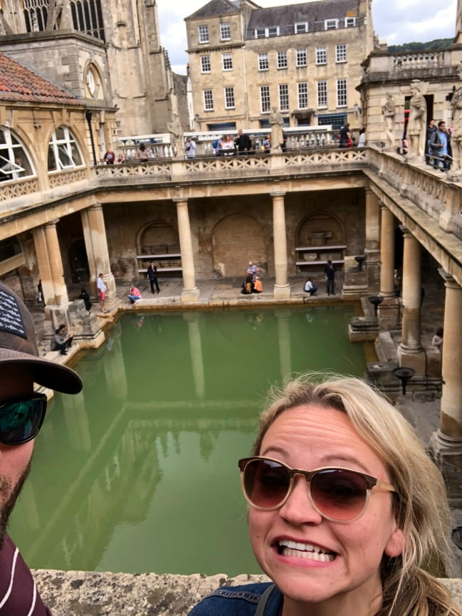 Roman Baths - Angie Away