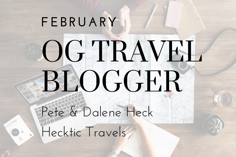 Angie Away's OG Travel Blogger Series - Hecktic Travels