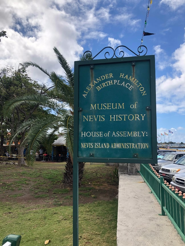 Things to do in Nevis, Alexander Hamilton