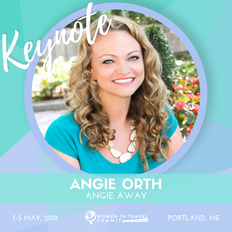 Angie Orth from Angie Away to Keynote at WITS