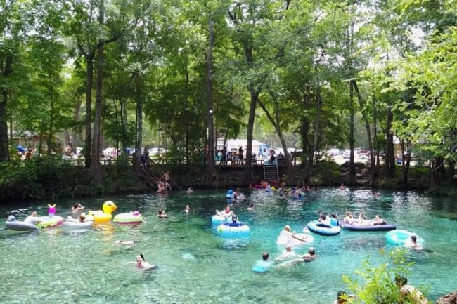 30 Photos to Inspire You To Visit Ginnie Springs Florida thumbnail