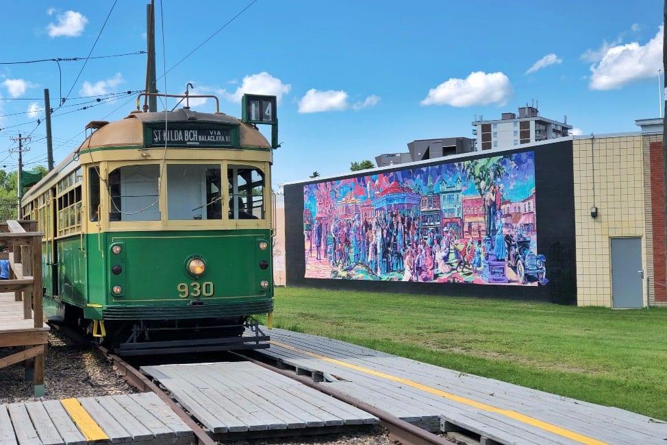 High Level Streetcar Edmonton Alberta