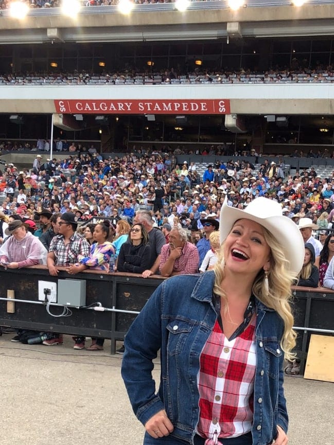 Angie Away at the Calgary Stampede