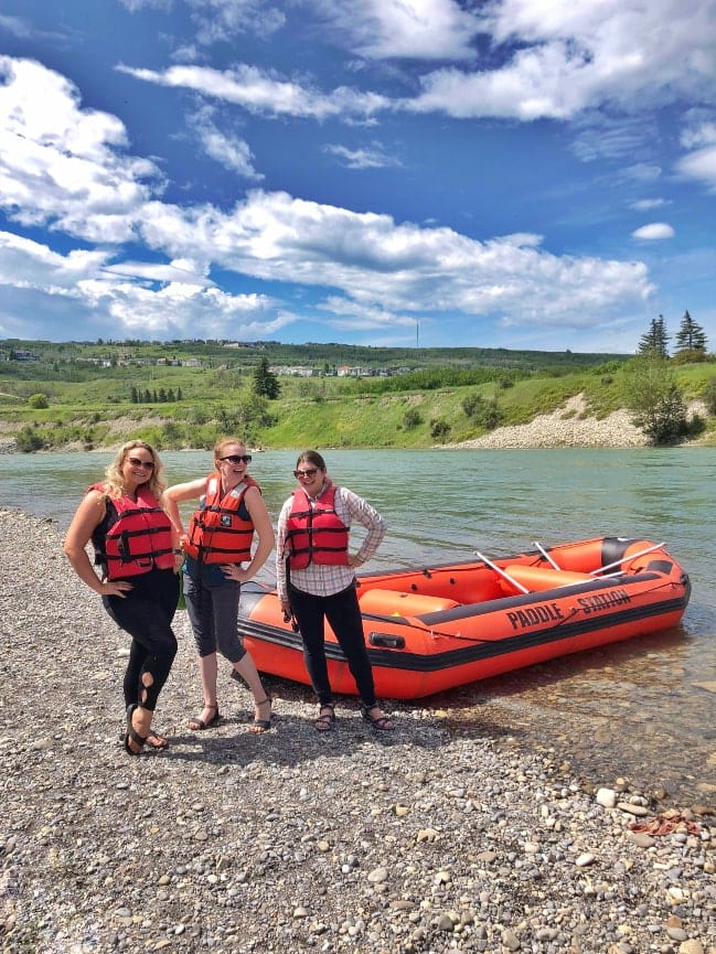 Float down the Bow River with the Paddle Station in Calgary