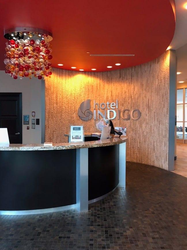 Where to stay in Waco Texas - Hotel Indigo