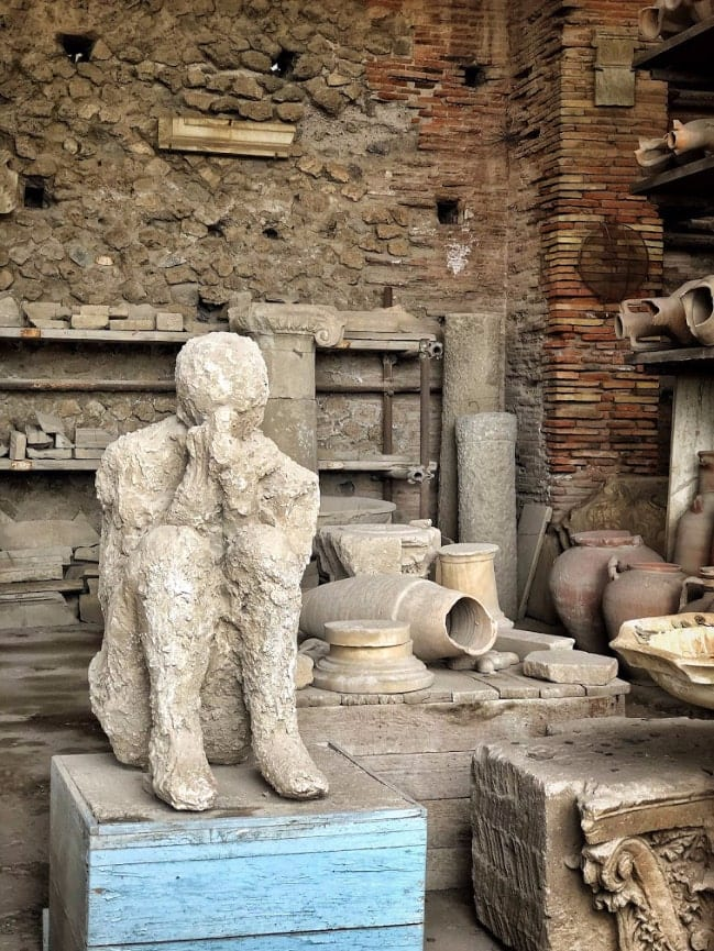 Things to do in Sorrento: Visiting Pompeii