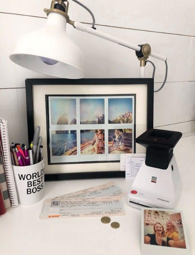 Polaroid Lab Collage