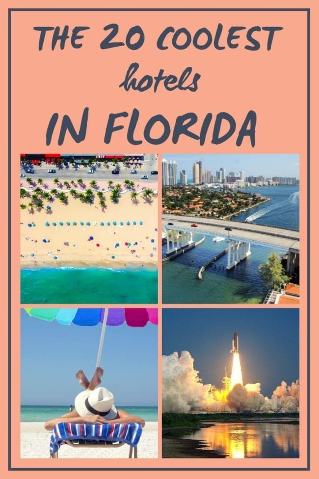 Where to Stay in Florida: A List of 20 Amazing Hotels. And yes, I've stayed in all of these Florida hotels over the years! Whether you're looking for beachfront, near the theme parks or a romantic getaway... I've got them all covered!