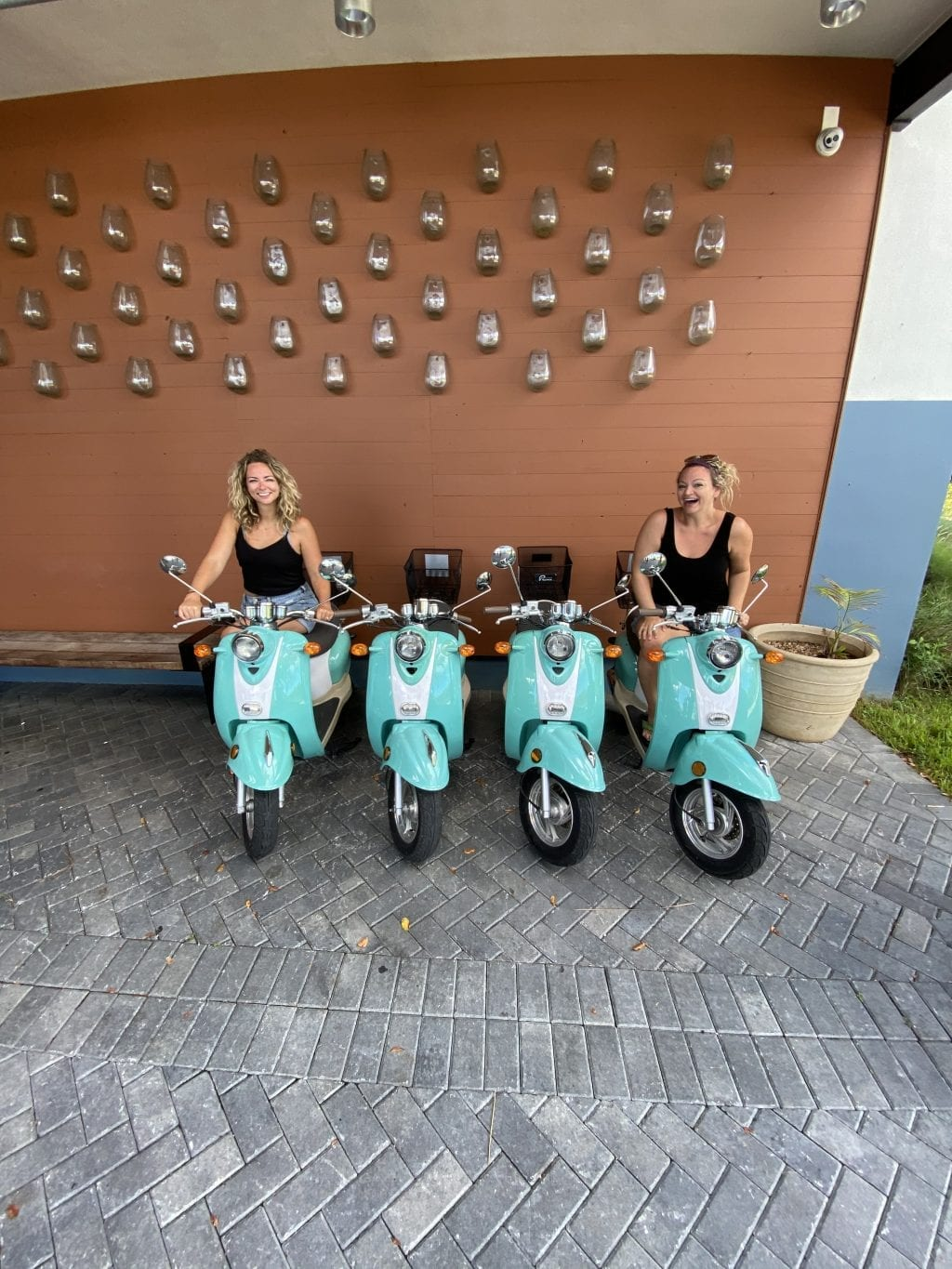 Scooters at The Perry Key West